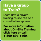 Have a Group To Train?